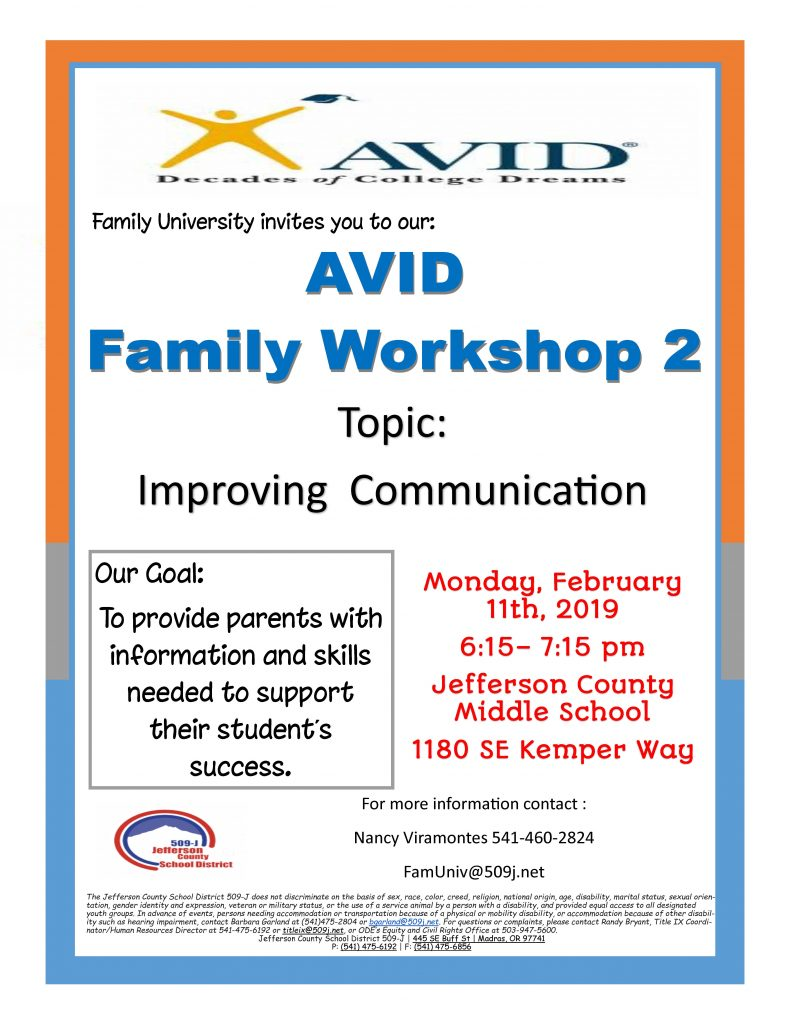 AVID Family Workshop 2 Flyer_Page_1
